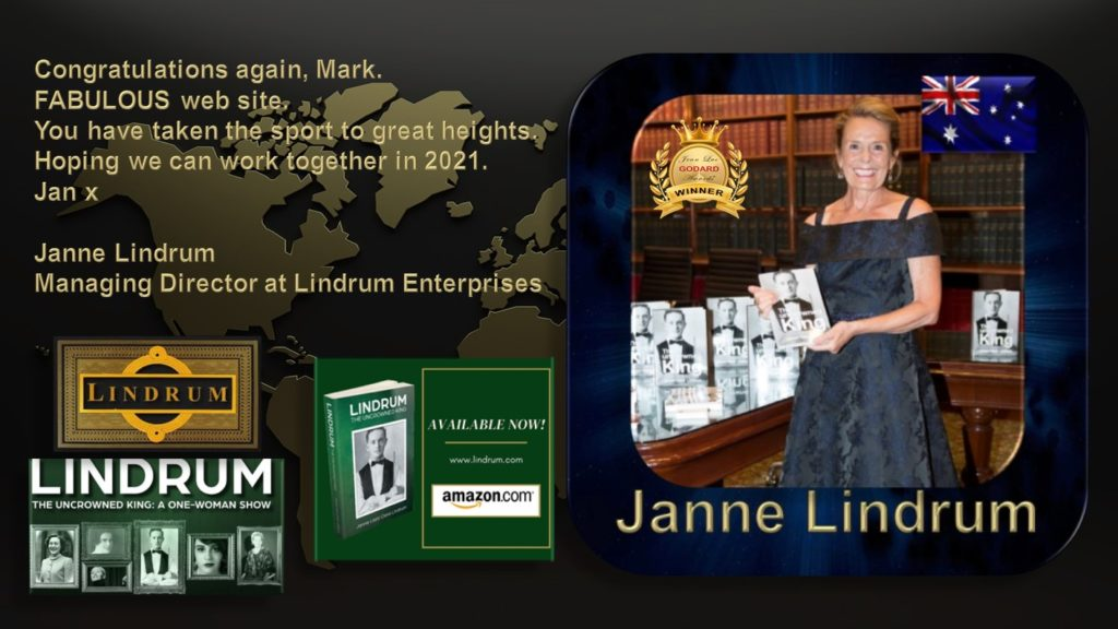 REVIEW JANNE LINDRUM