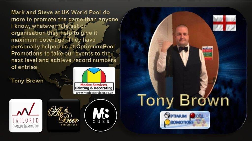 REVIEW TONY BROWN